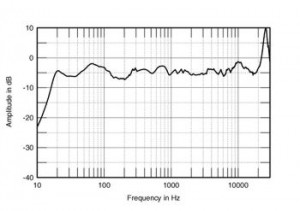Frequency Response of a High End Loudspeaker From a Major Brand