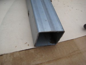 65mm Square Mild Steel